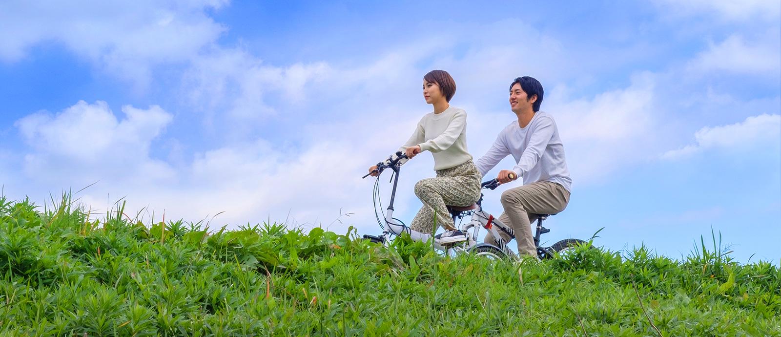 信州みなみまきむらでの高原サイクリング