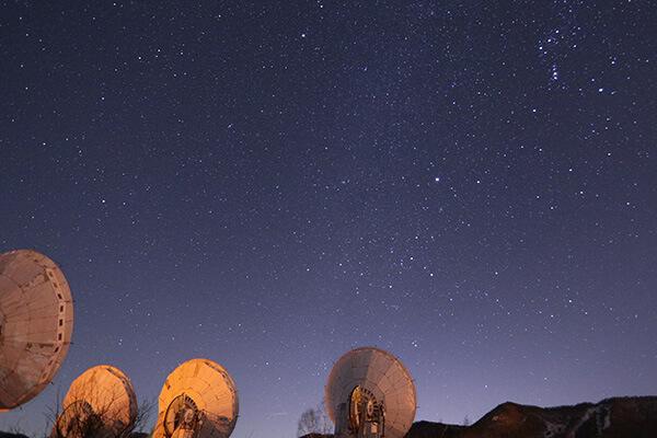 日本最大級の電波天文台
