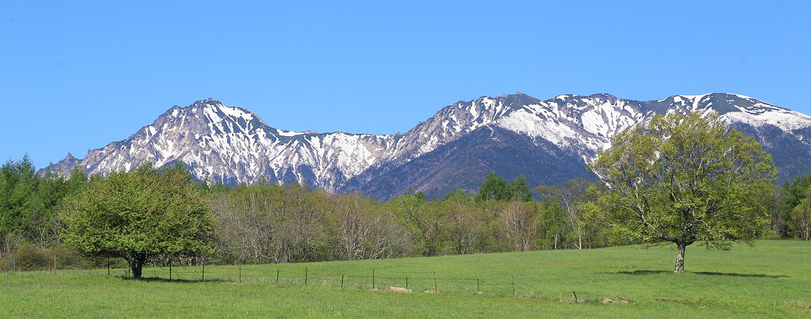 八ヶ岳と周辺環境